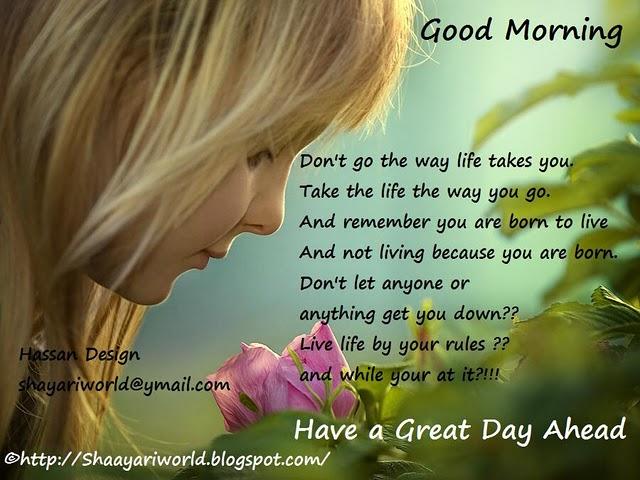 Self Improving Inspiring Quotes: Good Morning Tuesday