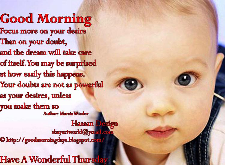Self Improving Inspiring Quotes: Good Morning Thursday
