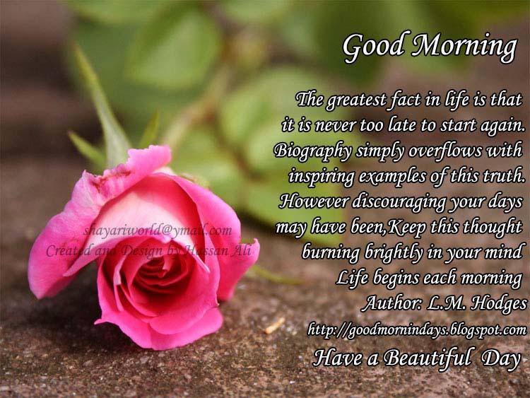 Self Improving Inspiring Quotes: Good Morning Thursday. 8