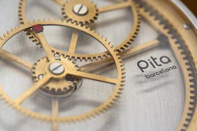The Pita Windmills (Molinos) Prototype from AHCI Watchmaker Aniceto Jiménez Pita of Barcelona