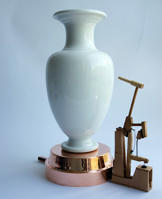 Sèvres Vase Clock - Knocks On Any Vase You Own For The Time