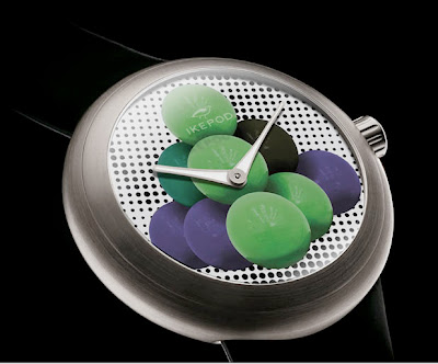Ikepod Cannonballs Watch by Artist Jeff Koons Introduced at Art Basel Miami