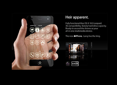 Futuristic iPhone
