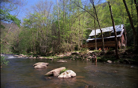 Luxury riverfront cabin in Bryson City NC is a fishing haven with luxury interior