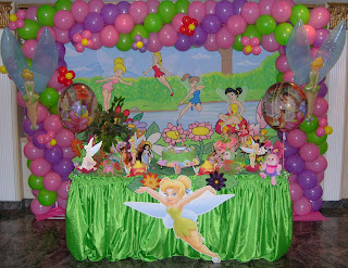 Tinkerbell Balloons Decorations Party Favors Ideas