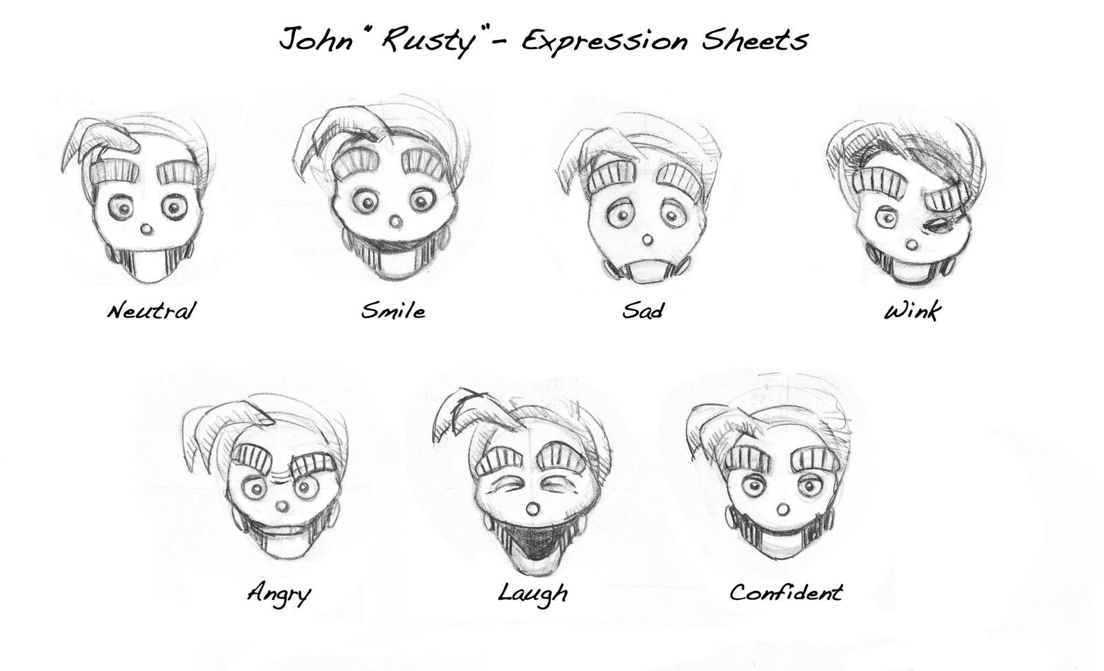 Character Emotion Sheet