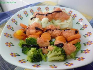 Brocoli Zanahoria Coliflor Al Vapor Por Espe Saavedra Suelta el brócoli en ramilletes pequeños y. petitchef
