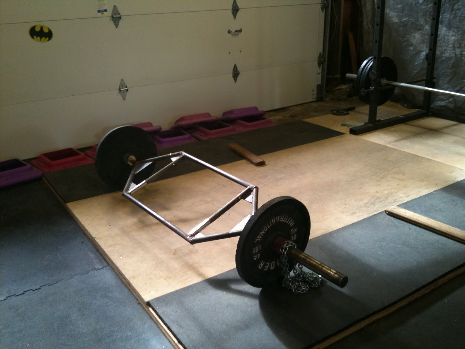 The Mighty Mix New Hex Deadlift Bar