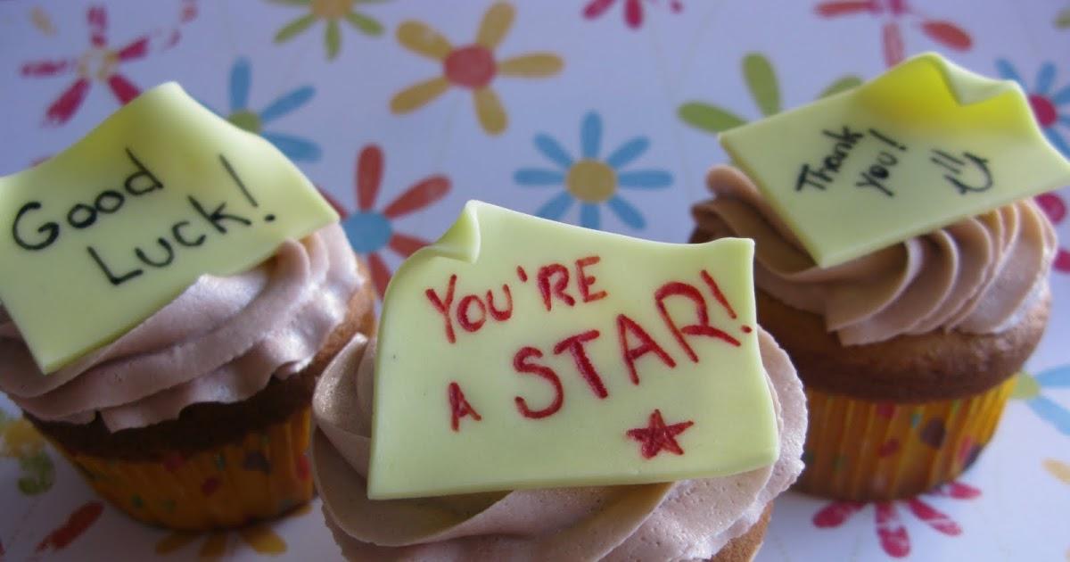 My Fair Cupcakes: Post-it Cupcakes