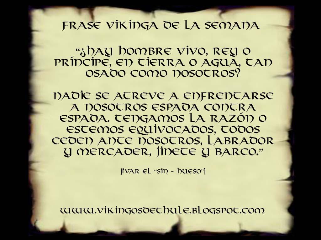Vikingos De Thule Frase Vikinga De La Semana 4