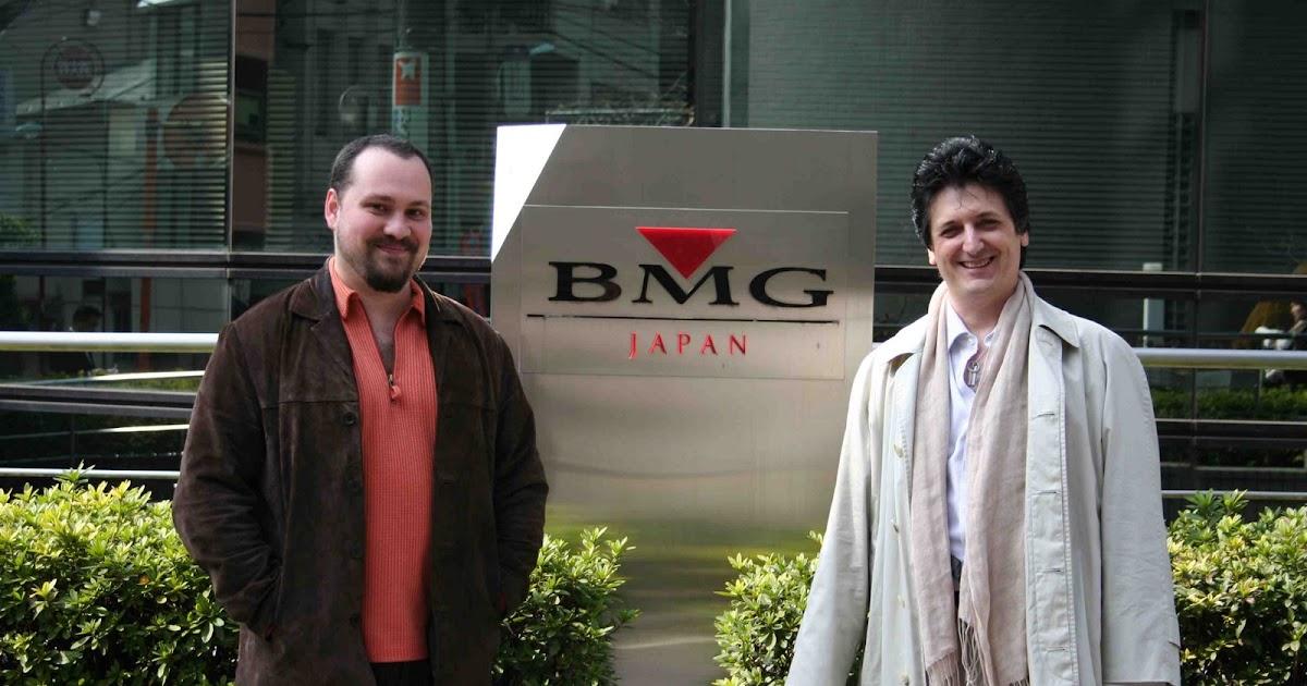 カニサレスのブログ(カニブログ): BMG Japanでのプロモーション