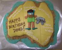 Sweet Catastrophe Doug S Australian Birthday Cake
