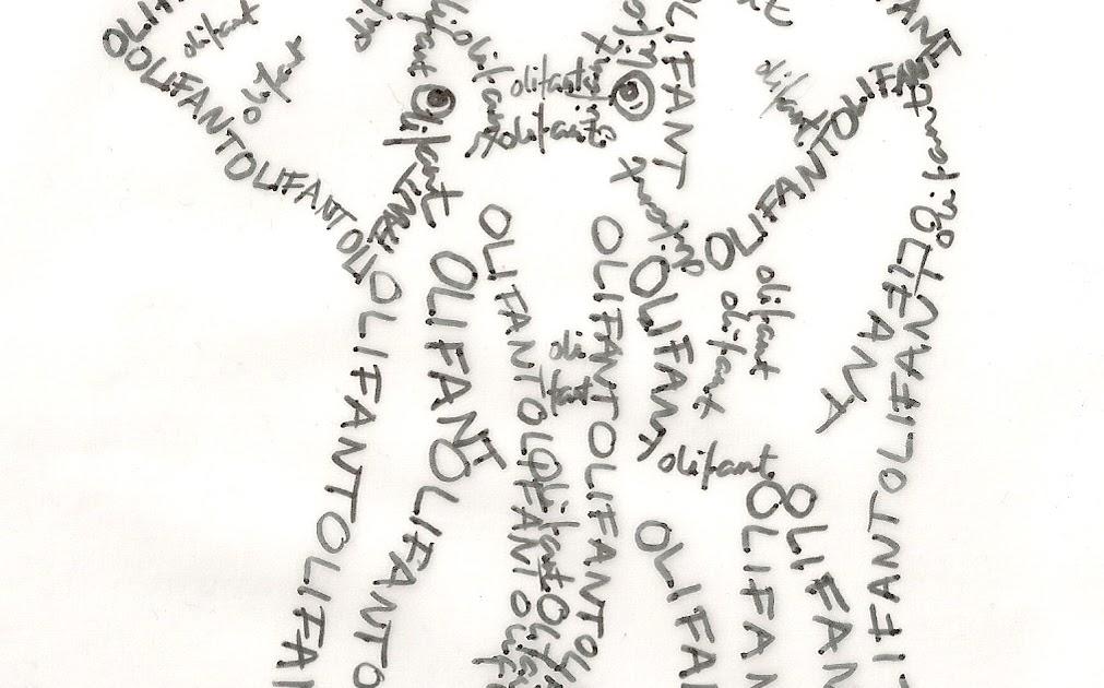 Blue Jacaranda by Linda Robertus: More calligrams!