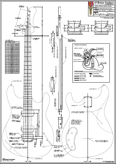 Cool Gibson Guitar Plans Pdf Apparel