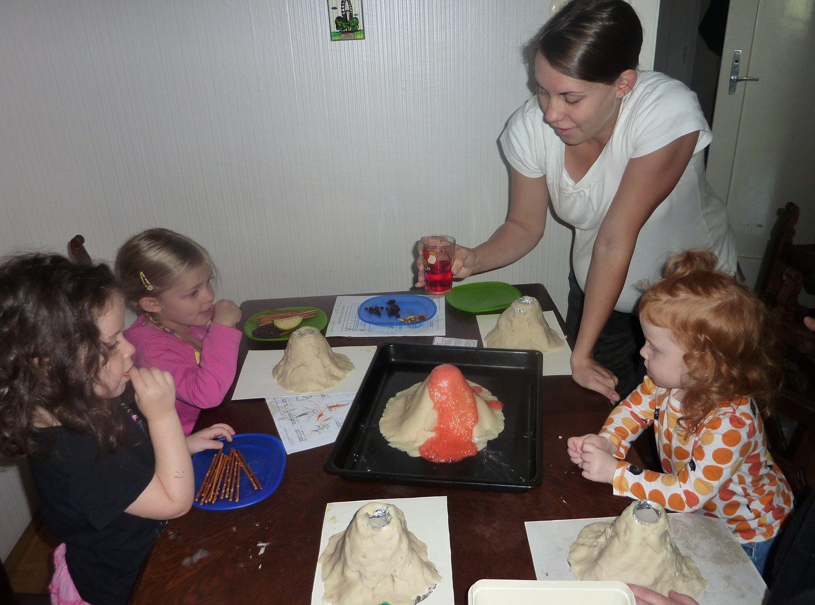 The Wieners Preschool Volcanoes