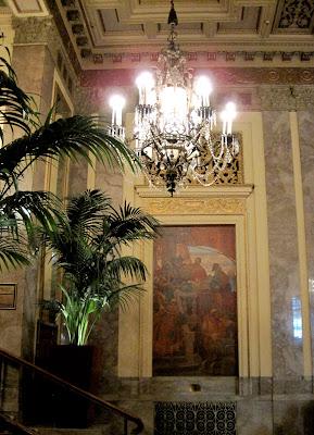 Architect design sir francis drake hotel san francisco for Drake hotel decor