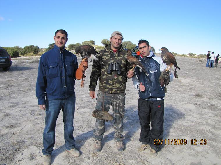 Mis amigos de Madrid Javier, Sergio y Numa