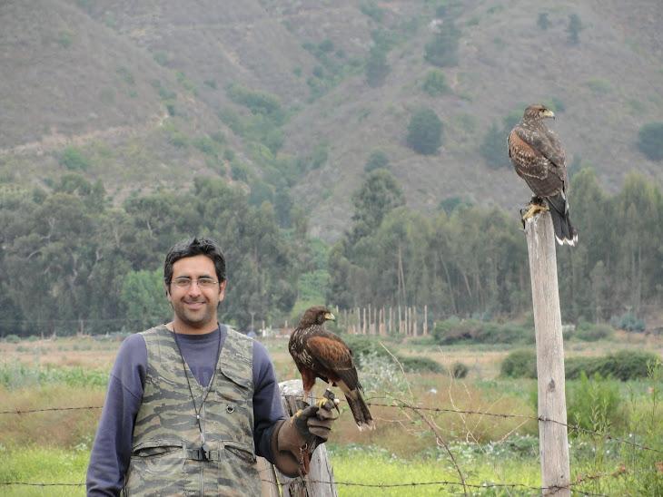 Reportaje de mi amigo Eduardo (de Chile ) con los Harris que le envié en el 2009
