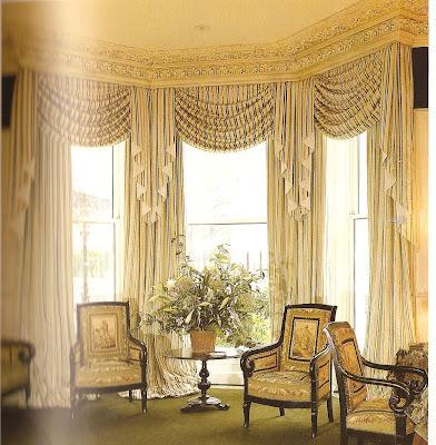 Dcor etc.: Bay Window Treatments
