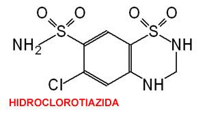 diabetes insípida nefrogénica hidroclorotiazida potasio