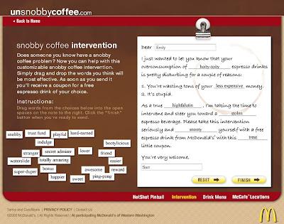 la carta invitando al amigo a probar un café unsnobby