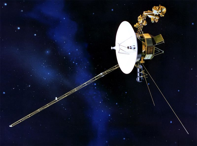 rocket that launched voyager 2 - photo #22