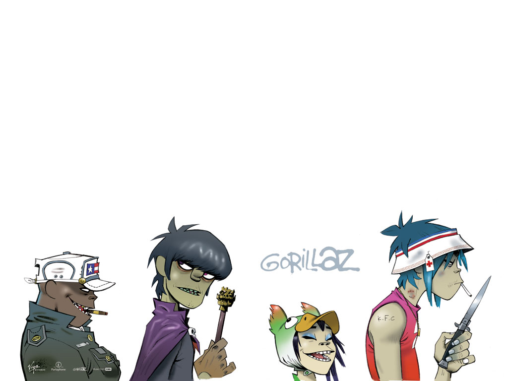 G324 cooper beth gorillaz case study - Gorillaz 2d wallpaper ...