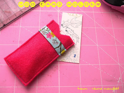 moo5 - Faça uma case em feltro para cartão  em 3 minutos