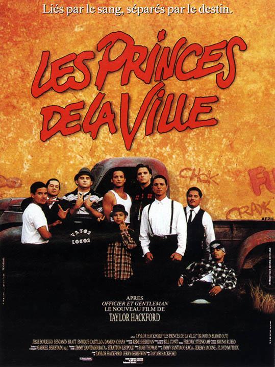 Les Princes de la ville affiche