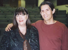 Joan Holman with friend Patrick Combs