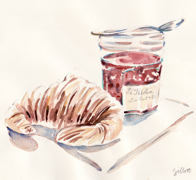 #110 - croissant and confiture