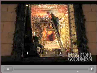 Bergdorf Goodman's holiday window video