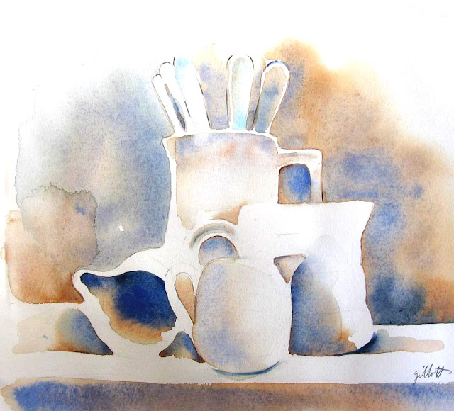 Les Blancs Watercolor #2