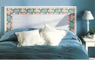 Nuova vita alla camera da letto lecoqchante shabby country e bomboniere - Come realizzare una testata letto ...