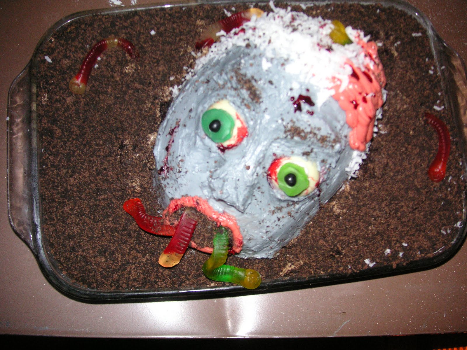Tart Thoughts From A Sweet Baker The Epic Zombie Cake
