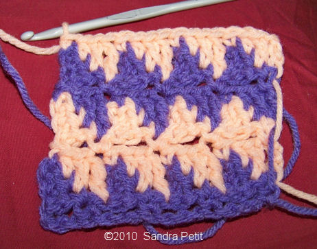 The Crochet Cabana Blog: houndstooth stitch