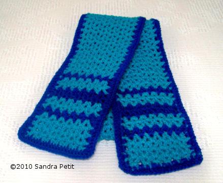 CROCHET PATTERNS SPECIAL OLYMPIC SCARVES | Crochet ...