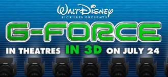 Disney G-Force Grand-Slam Sweepstakes