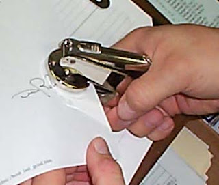 Getting an affidavit notarized