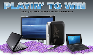 HP Games Playin' to Win Official Sweepstakes
