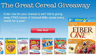 Cheerios Free Cereal Giveaway