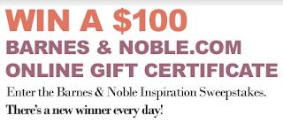 Barnes & Noble Inspiration Sweepstakes