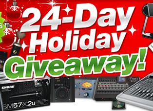 Sweetwater 24-day Holiday Giveaway