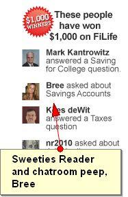 FiLife.com $1,000 Cash Sweepstakes
