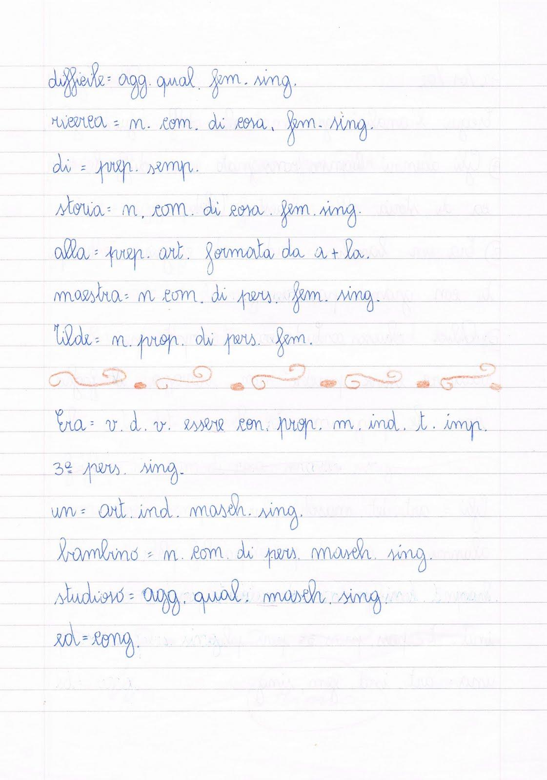 Frasi Di Grammatica Analisi Logica