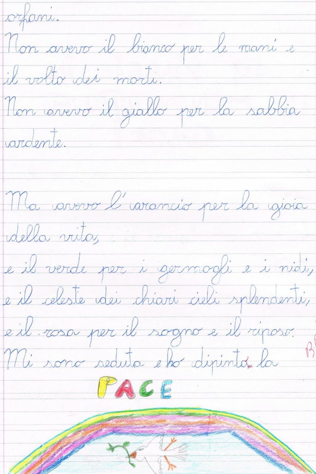 Preferenza Primi giorni di scuola in classe terza - italiano UB93