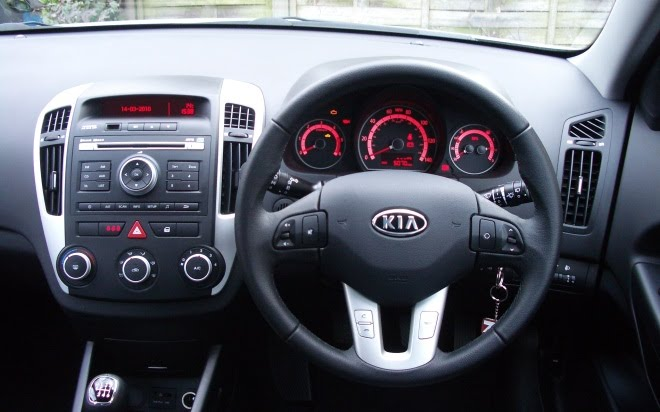 Kia Ceed dashboard