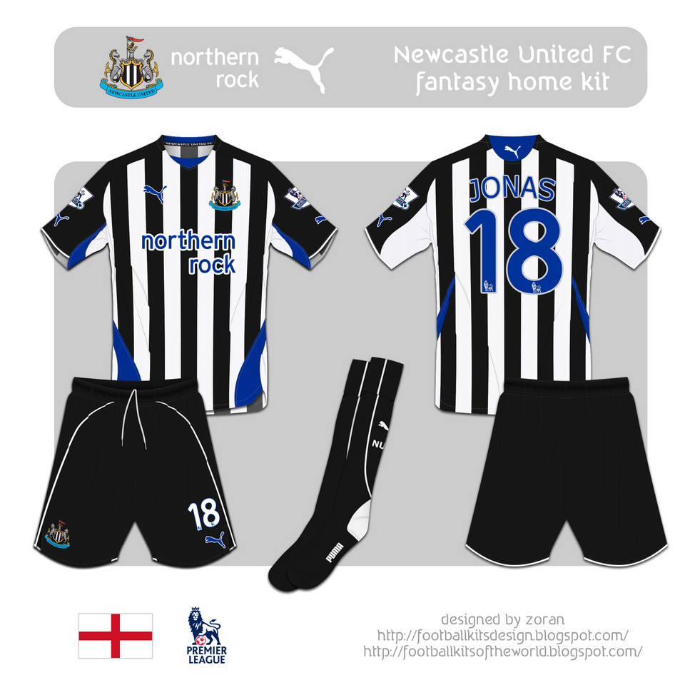 best website 125df 961a3 football kits design: Newcastle United F.C. fantasy kits