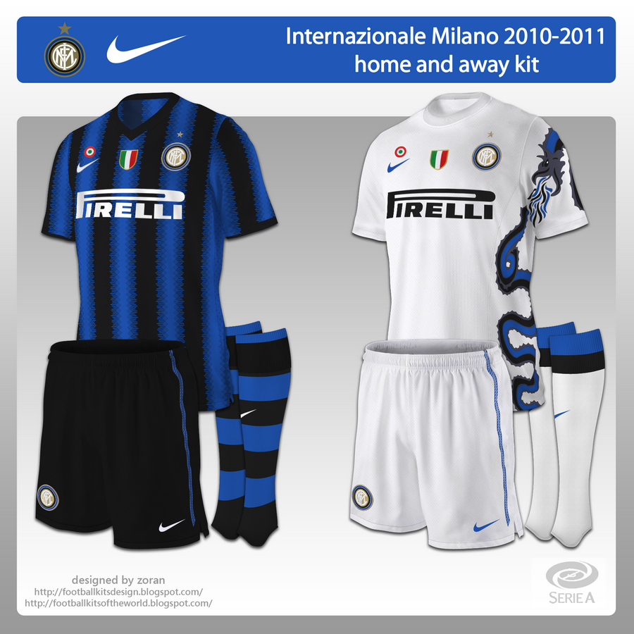 separation shoes 76997 b8d51 football kits of the world: Internazionale Milano 2010 ...