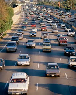News that you have waited: 91 freeway traffic